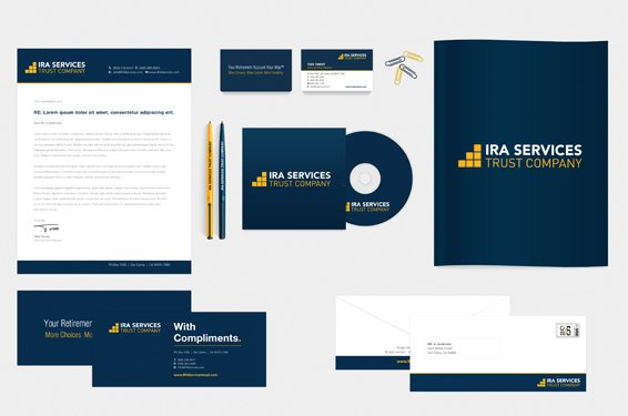 IRA Services Stationery